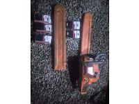 Husqvarna 390XP Chainsaw 88CC with spares