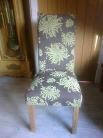 DINING CHAIRS BEAUTIFULL SET OF 4