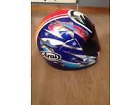 Arai motor bike helmet size large