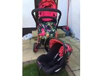 cosatto travel system and car seat