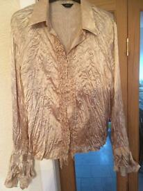 Champagne Blouse 14
