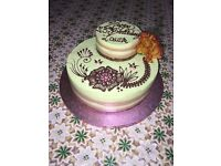 Cakes for all occasions (Wedding, Birthdays, Novelty, Cheesecakes, etc) and Pastries and Desserts