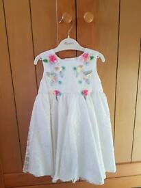 Monsoon Baby dress age 6-12 months