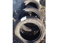 Tyres 15inch part worn