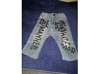 New Diesel Kids Jeans - 6-9 months