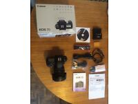 Canon 7d with f4 24-105mm lens boxed includes accessories like new