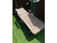 Perfect condition easy to store one on top the other rattan.