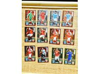MATCH ATTAX LIMITED EDITION -12 CARDS (2015/2016)