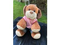Build a bear dog plush toy and outfit