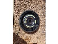 Mercedes slk 172 space saver wheel and tyre inflater brand new never used