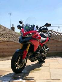 Ducati multistrada 1200st Termignoni System,belts been replaced