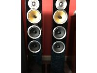 Bower and Wilkins CM8 Floor standing speakers For sale