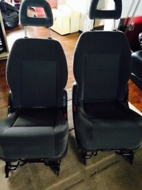 FORD GALAXY 2001 REAR SEATS WITH HEAD REST