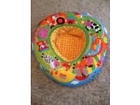 Activity play ring inflatable