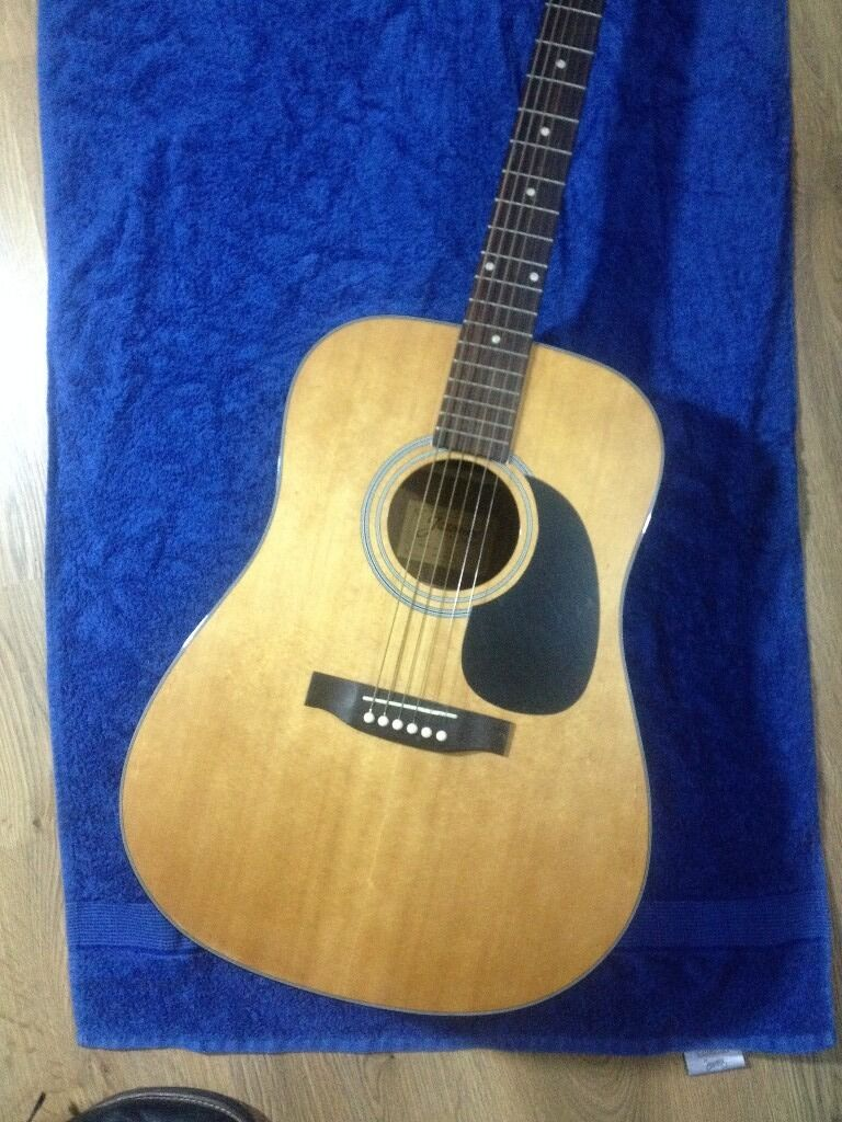 Jasmine By Takamine S33 Acoustic Guitar Very Nice Condition With