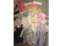 Girls bundle of clothes 6-9 month