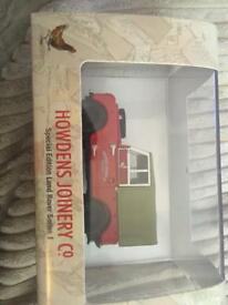 Scale model Howdens Joinery Co Land Rover Series 1 Special Edition