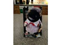 Collectable dancing hamster Barber Ben by Gemmy