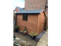8x6ft garden shed NEW £350