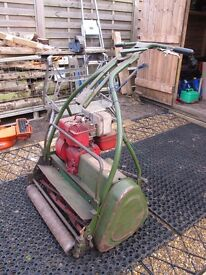 LAWN MOWER WEBB LARGE CYLINDER TYPE