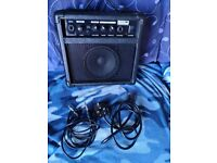 Electric Guitar and 10W Kinsman Amplifier for sale
