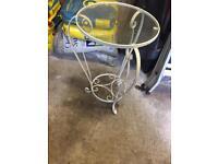 Lamp/corner table
