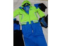 Boys PICT-URE ski jacket, trousers and other clothing - to suit age 12