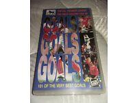 vhs video Goals, goals, goals