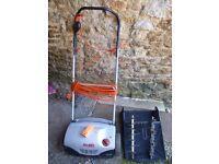 AL-KO Electric Lawn Rake / Scarifier. (13amp safety plug included)