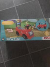 Children's ride on toy car