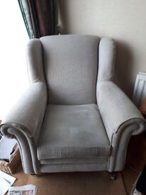 Two armchairs excellent condition
