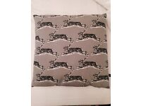 Cushion cover with contemporary rabbit pattern - Habitat