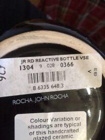 John Rocha red vases