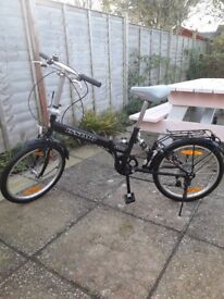 Issimo F100 folding bike in good condition