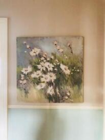 Painting on canvas by A Fletcher ex John Lewis
