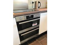 AEG double oven built in brand new
