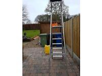 7 step metal /folding step ladder