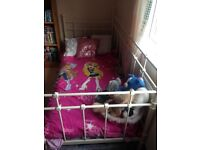 Ikea day bed white, shabby chic, princess bed great condition needs collecting by Sunday 18th