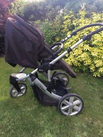 Britax 3 in 1 travel system/pram