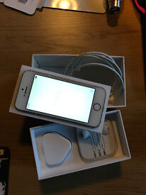 iPhone 5s (gold) 16 gb, locked to EE, excellent condition in box