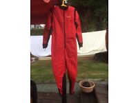 Pristine condition diving equipment - Dry suit, under suits, hoods, regulator, weights