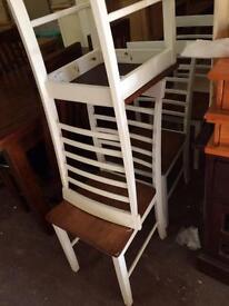 Oak or walnut chairs new £35 each
