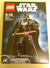 Lego Star Wars 75111 Darth Vader Buildable Figure New