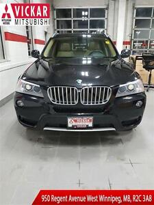 2014 BMW X3 xDrive28i | SUNROOF | LEATHER