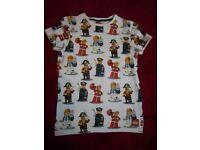 Age 10 Next Lego Minifigures T-Shirt IP1