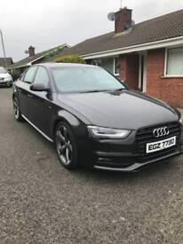 Audi A4 S-Line Black Edition