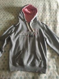 Animal grey hoodie