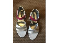 Girls party shoes size 4