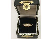 1988 18ct yellow gold diamond eterntiy ring