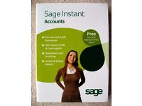 SAGE INSTANT ACCOUNTS PLUS V.15 - USED ONCE BEFORE UPGRADING TO LINE 50. £35 ono